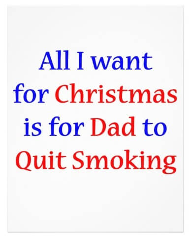 Quit Smoking Dad