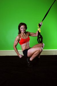 Lori King, TRX training