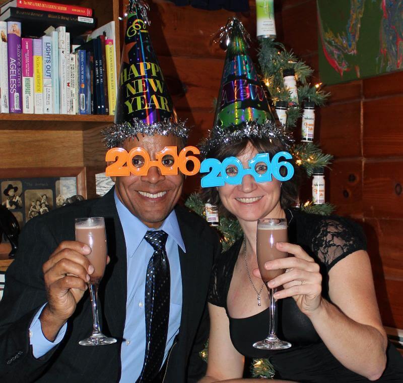 New Year 2016 Celebration Jim and Lori King