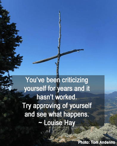 Try Approving of yourself