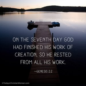 On the 7th Day God rested.