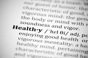 Define Healthy