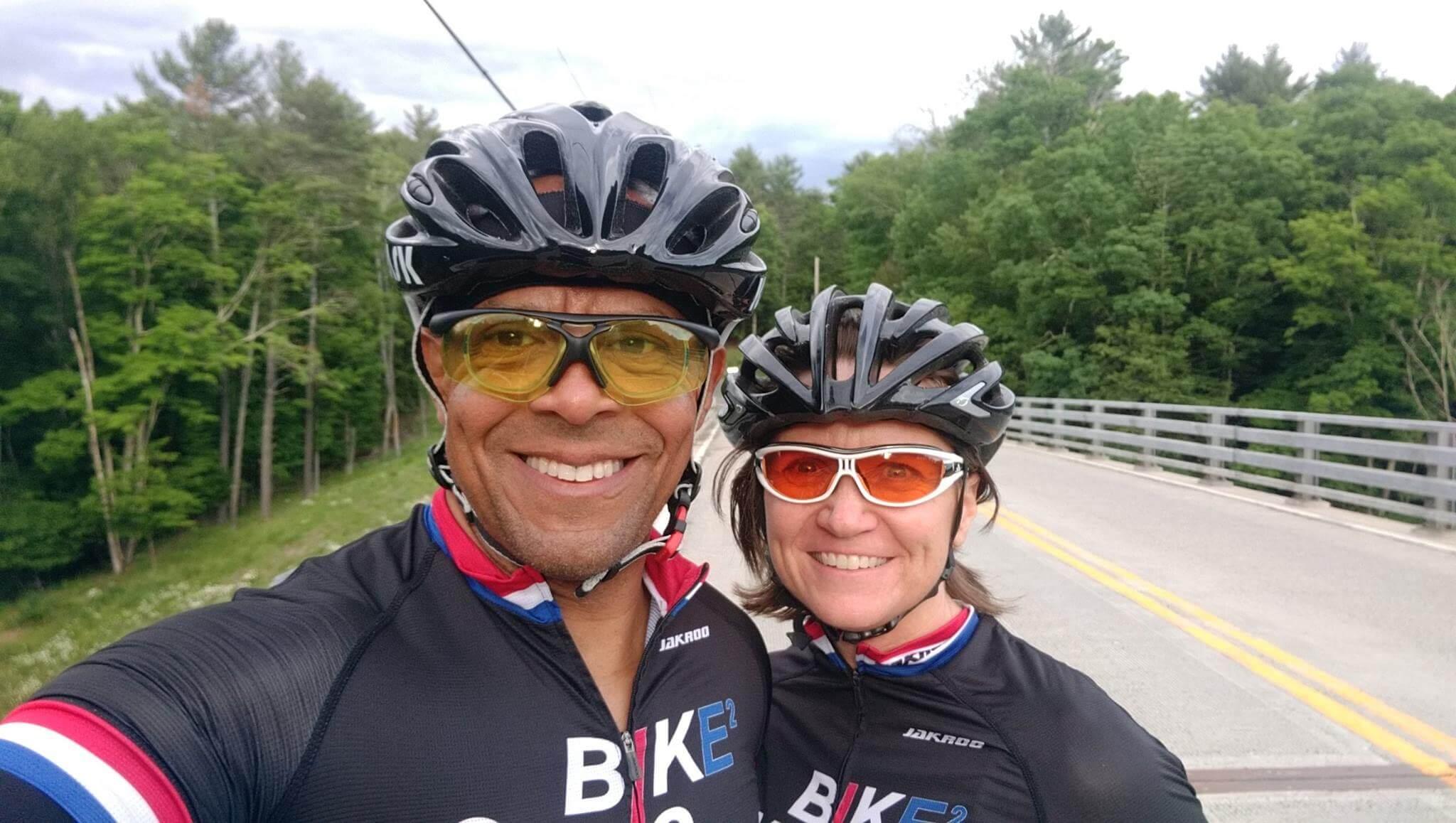 Jim and Lori Bike