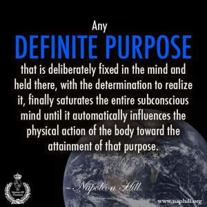 Definite Major Purpose (DMP)