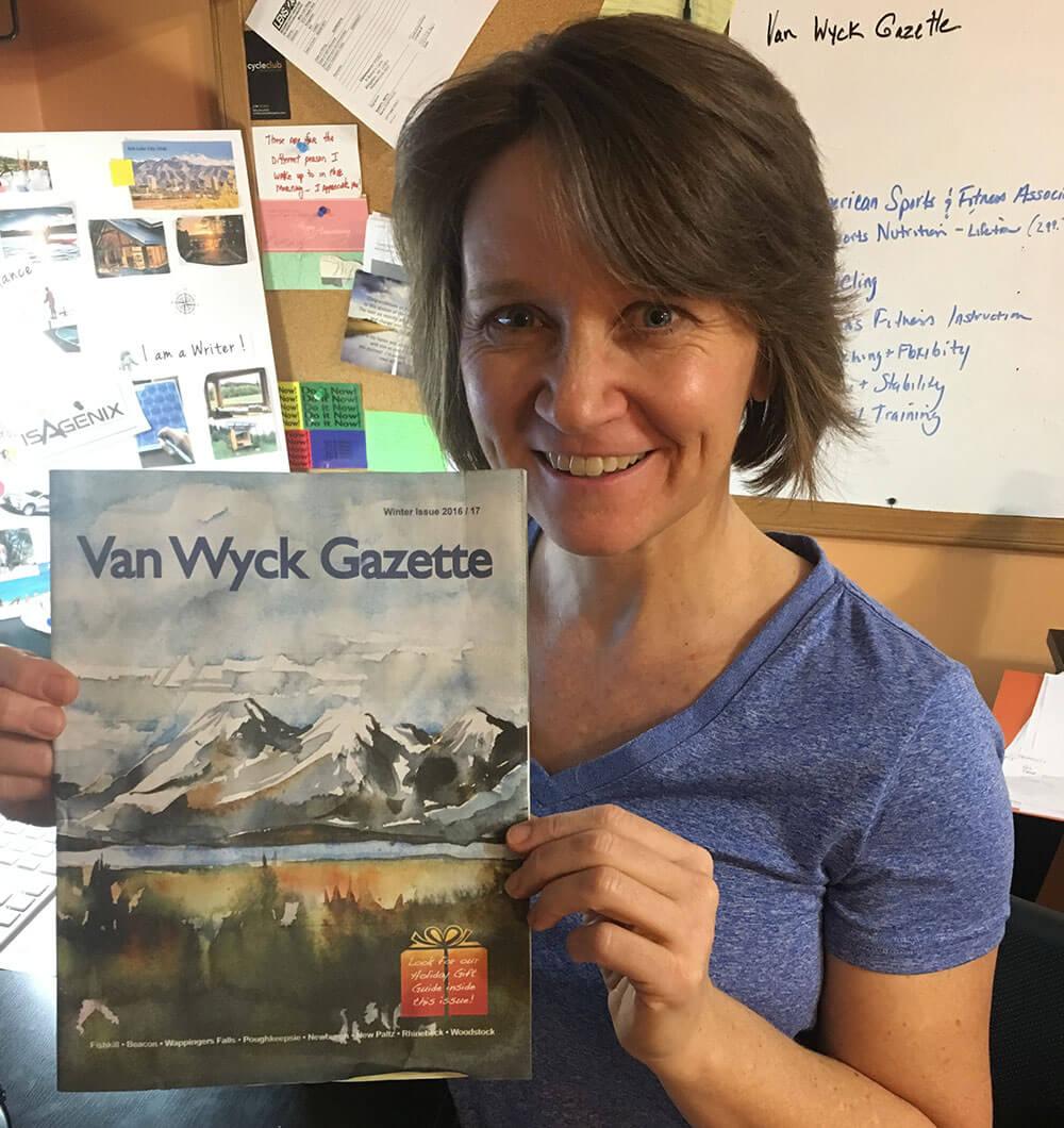Lori King, writer for the Van Wyck Gazette