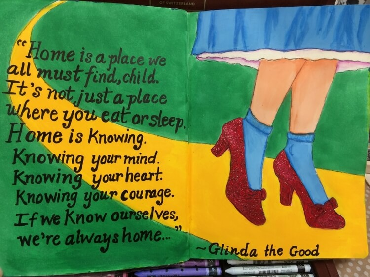 Home is a place we all must find. ~ Glinda the Good Witch