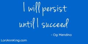 Scroll 3 - I will persist until I succeed