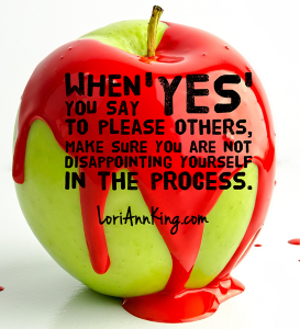 People Pleasing vs Disappointing Yourself