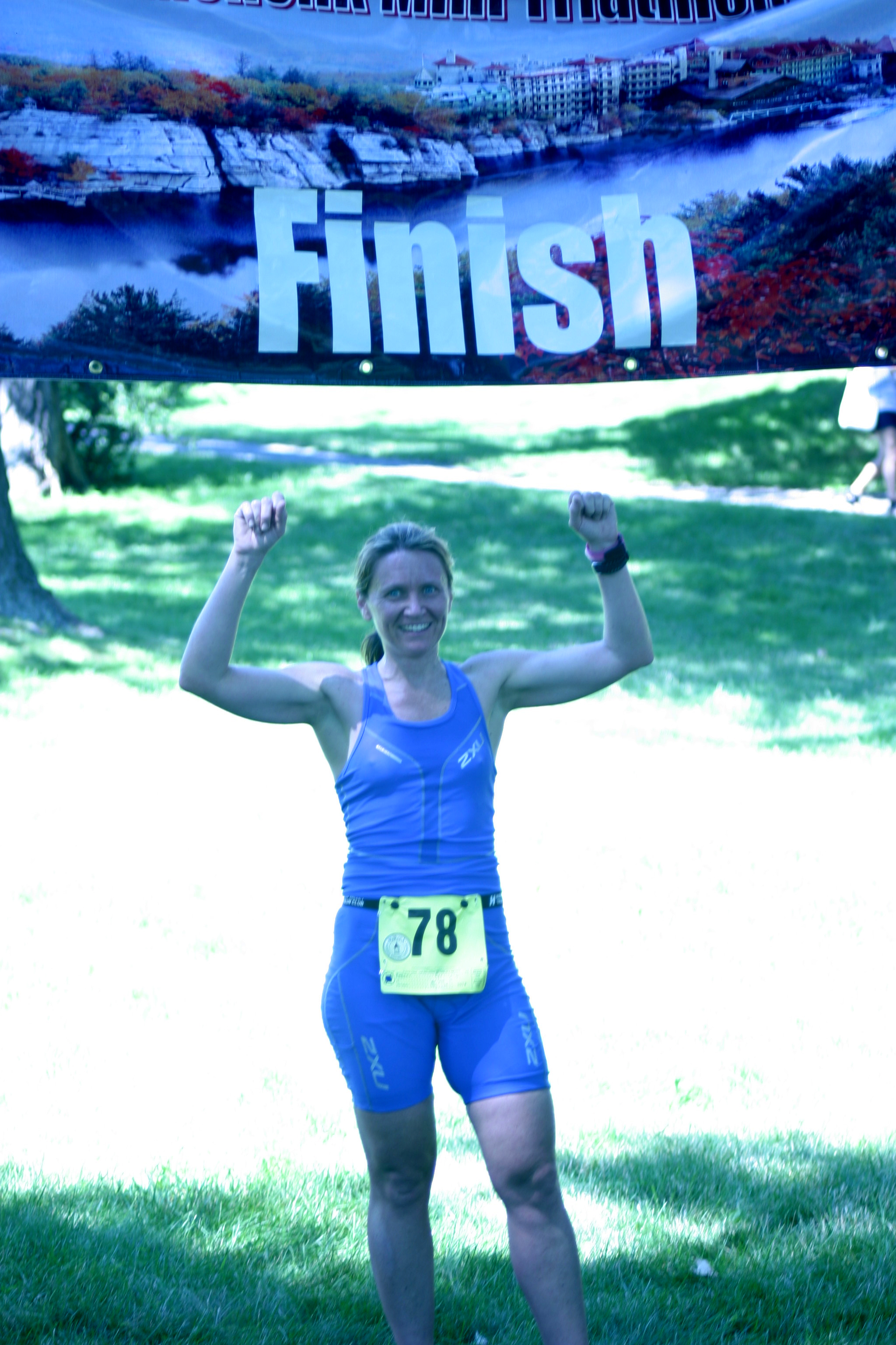 Winner, 2011 Mohonk Mountain House Mini-Triathlon