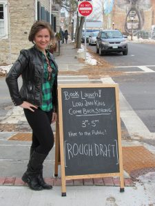 Lori Ann King at Rough Draft Bar and Books