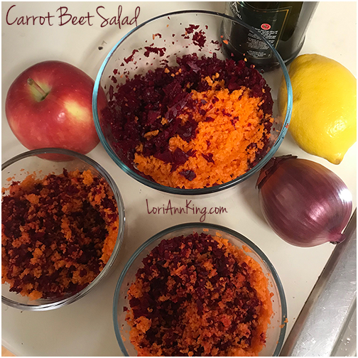 Let's Talk Food: Carrot Beet Salad