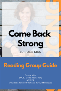 Reading Group Guide - Come Back Strong, by Lori Ann King