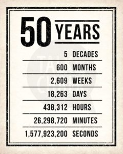 50 year